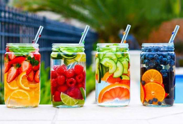 20 Insanely Delicious Detox Water Recipes:  https://t.co/W0C9dHSi2E