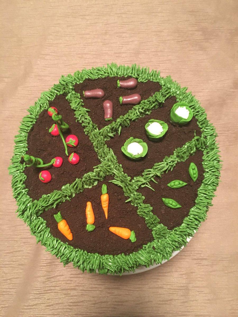 Sabrina Degni On Twitter Garden Birthday Cake