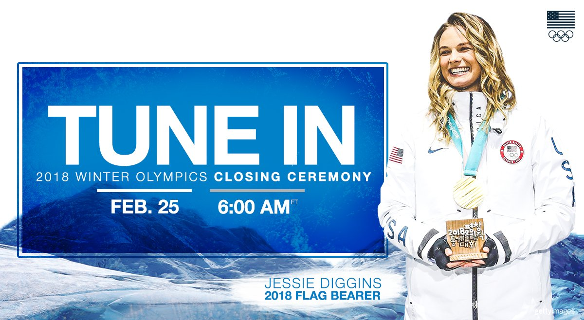 DON'T MISS the #WinterOlympics Closing C...