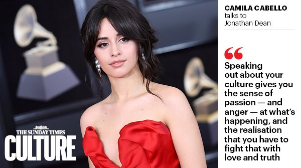 Platinum-selling pop star Camila Cabello talks to .@JonathanDean_ about success, guns and the American Dream  https://t.co/pN2qNCfFnN