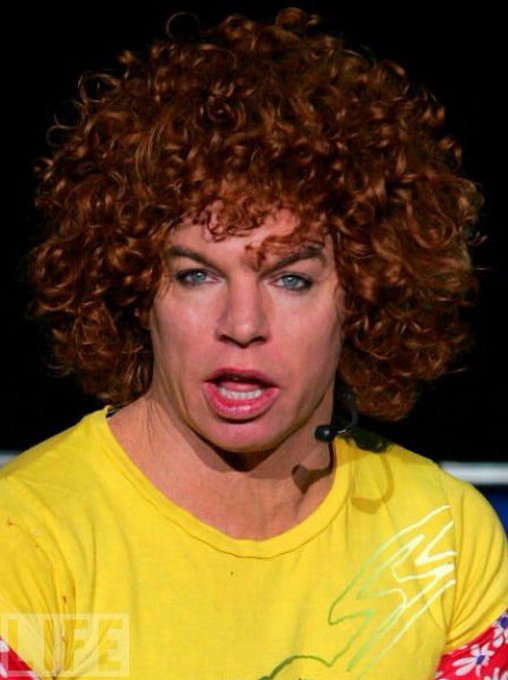 Glad to say a beautiful human being was born on this day many years ago........ happy birthday to Carrot Top