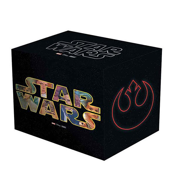 Your eyes can deceive you. Star Wars Comic Box Set in Slipcase (10+ hardcover books and an exclusive poster!) bit.ly/2EIJ0Ip