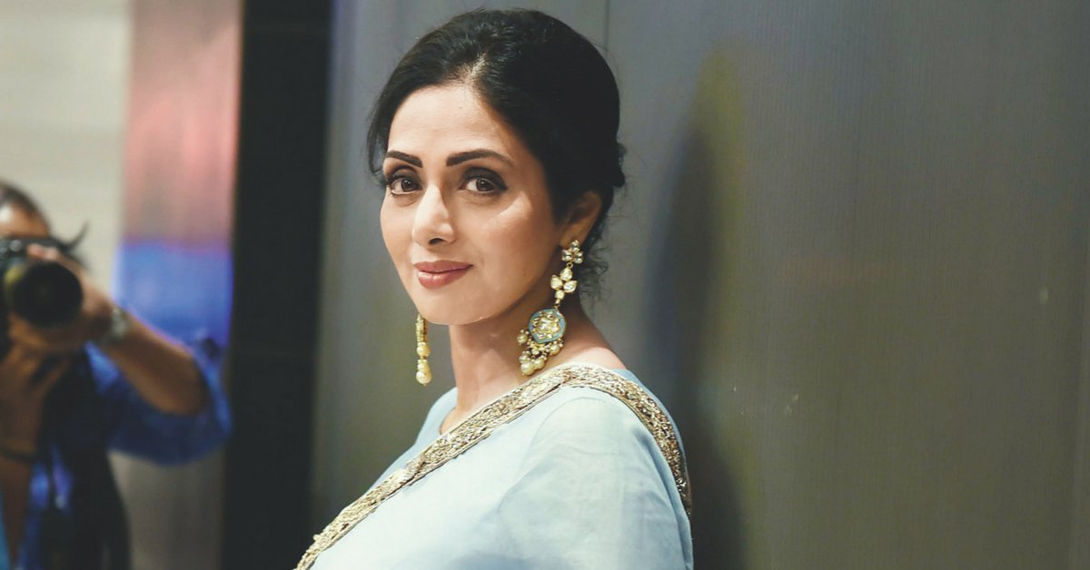 """The Times Of India on Twitter: """"Legendary Bollywood actor #Sridevi passes  away in Dubai, she was 54 https://t.co/NqH8Px4tEM via @etimes… """""""