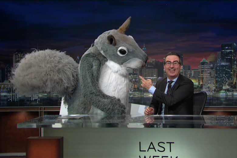 Court finds John Oliver has the right to hire giant squirrels to insult coal barons: https://t.co/aKQNqgYtm0