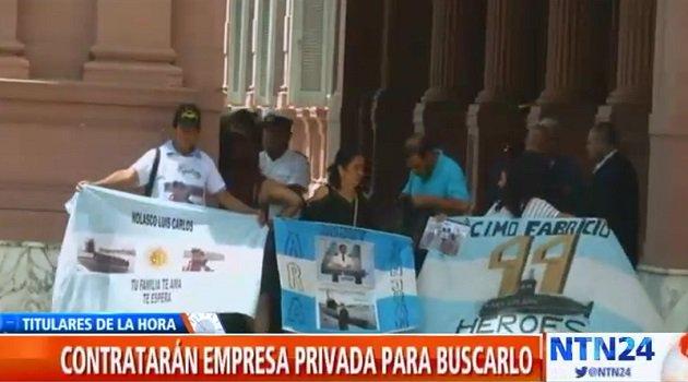🎥 [#ARGENTINA] Familiares de los tripulantes del submarino ARA San Juan iniciaron una colecta para patrocinar una busqueda privada del navío https://t.co/hqMXox44sT