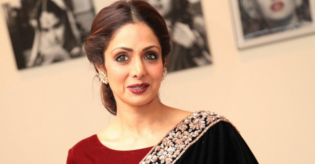 SHOCKING! Actress Sridevi passes away due to Massive Cardiac Arrest in Dubai