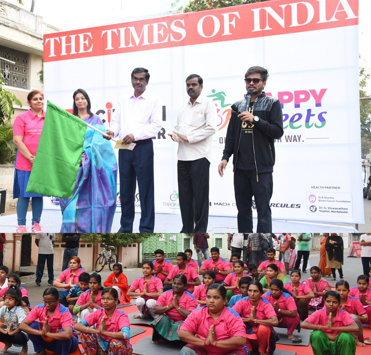 Image result for All welcome to Happy Streets on Link Road this Sunday times of india trichy