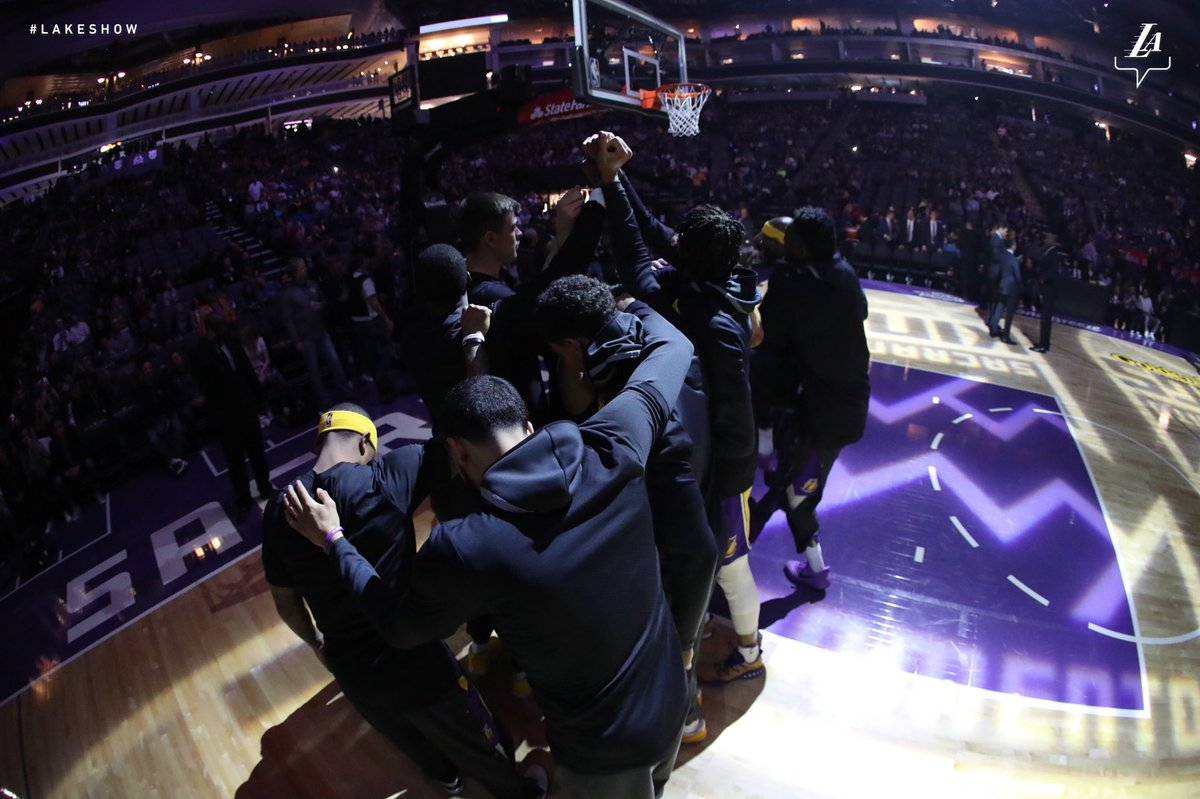 Let's get it #LakeShow!!