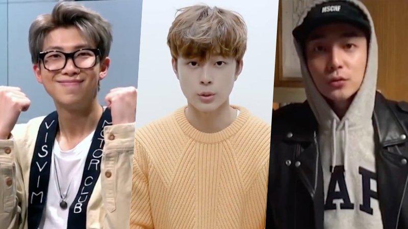 #BTS's #RM, #YooSeonHo, #RoyKim, And Mor...