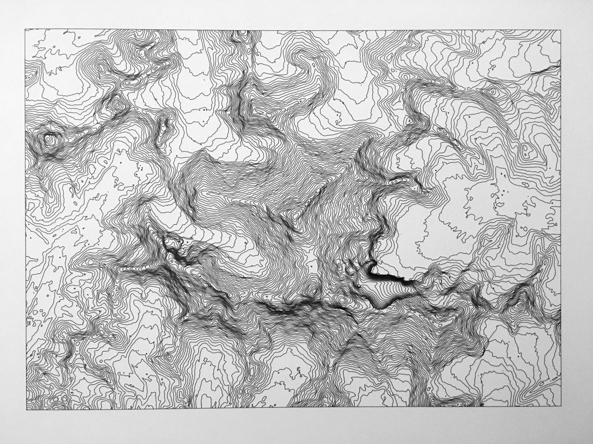 topographic map of mount everest Michael Fogleman On Twitter Topographic Map Of Mount Everest