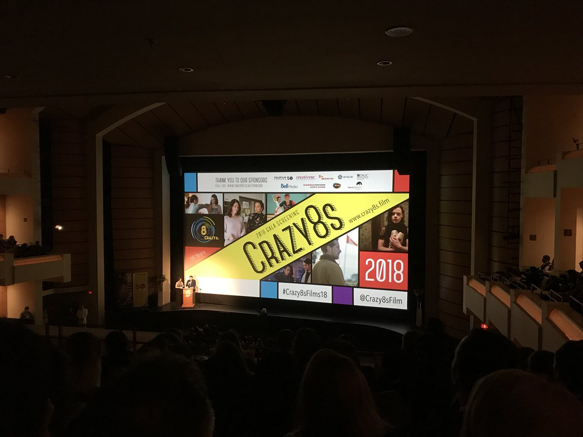 So excited to see #Crazy8sFilms18 this y...