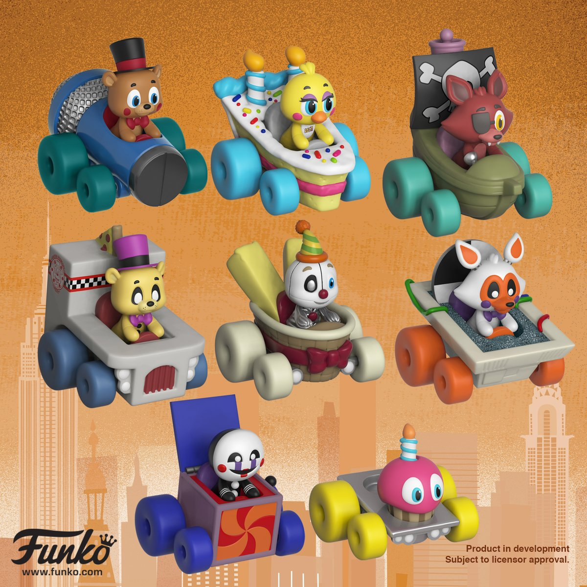 We debuted Funko Super Racers at Toy Fai...