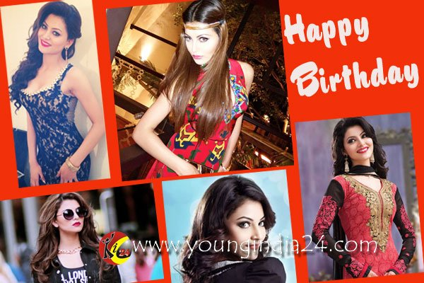 Happy Birthday Urvashi Rautela from all the fans of India