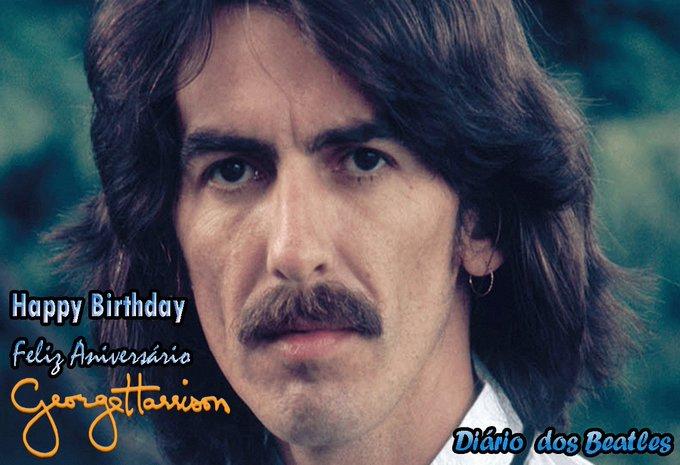 Happy Birthday George Harrison