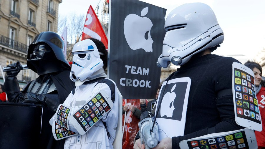 Apple's case against the tax campaign group Attac was thrown out of a Paris court on Friday https://t.co/YaHgBkuCBd