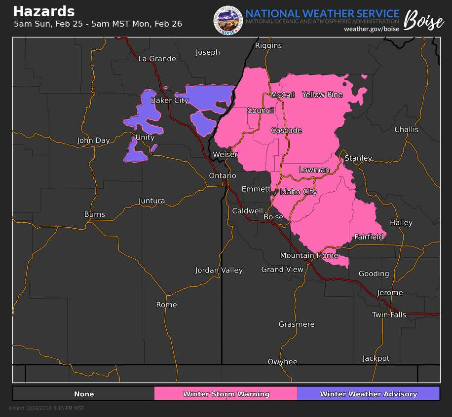 Winter Storm Warning Bring It On Says >> Nws Boise On Twitter Another Winter Storm Will Bring Winter