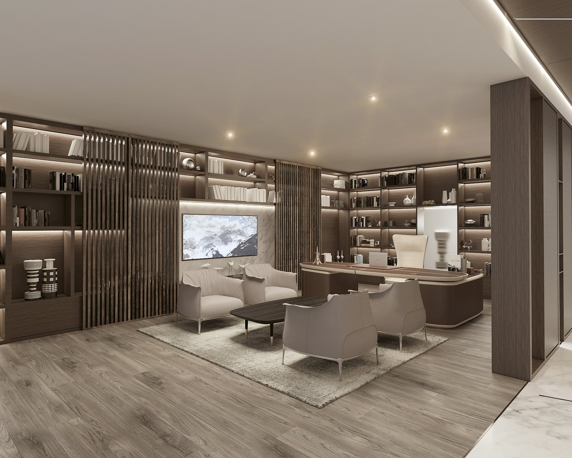 Draw Link On Twitter Contemporary Luxurious Executive Office Design Concept By Draw Link Group