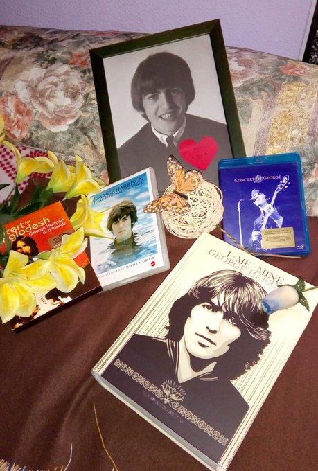 Happy birthday in heaven George Harrison