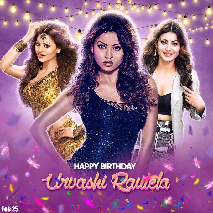 Happy Birthday to you Urvashi Rautela
