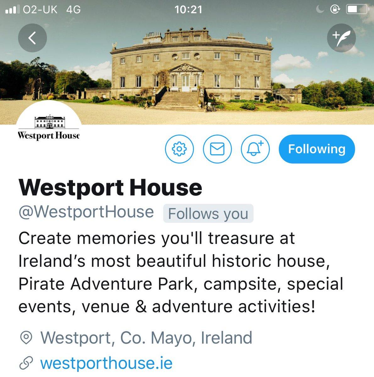 Westport House (@WestportHouse) | Twitter
