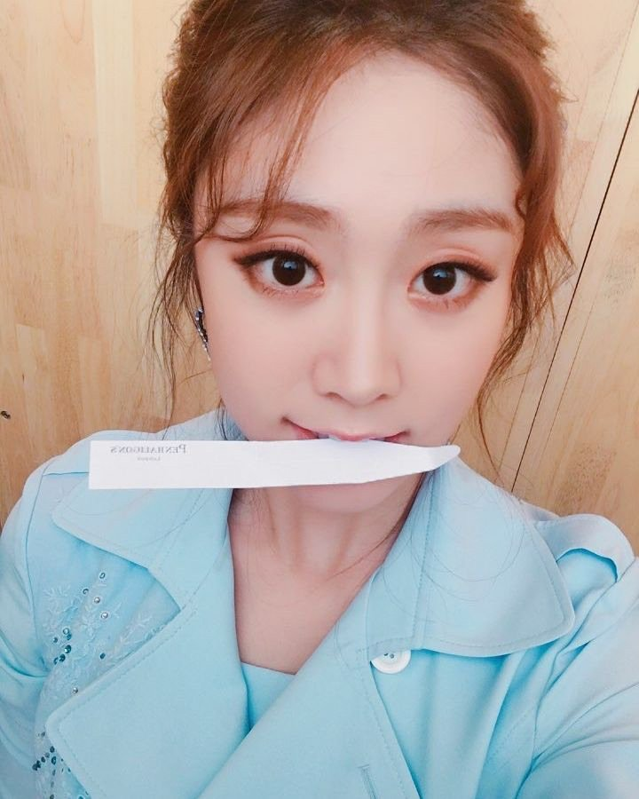 Do you think of #Lovelyz's #Jisoo when p...
