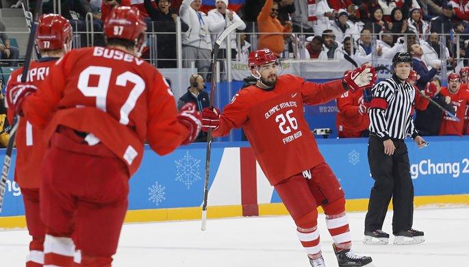 ПОБЕДА! Сборная России по хоккею завоевала золото Олимпиады https://t.co/LCLzps89LQ