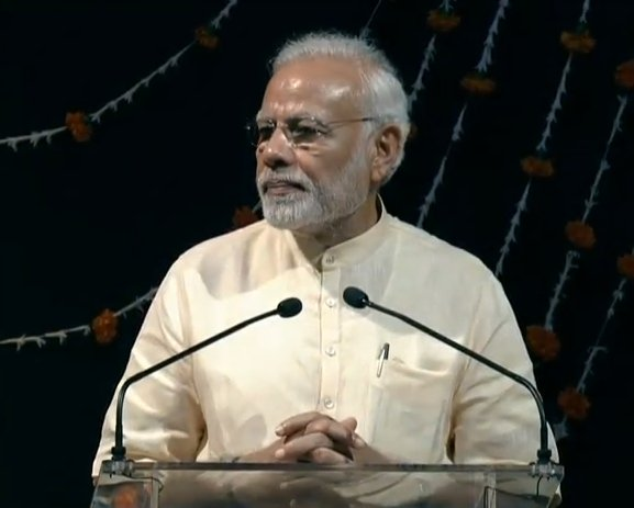PM @narendramodi is addressing the gathering at Auroville Foundation on the Occasion of its Golden Jubilee Week. Watch LIVE at https://t.co/pcmrTv7JTF