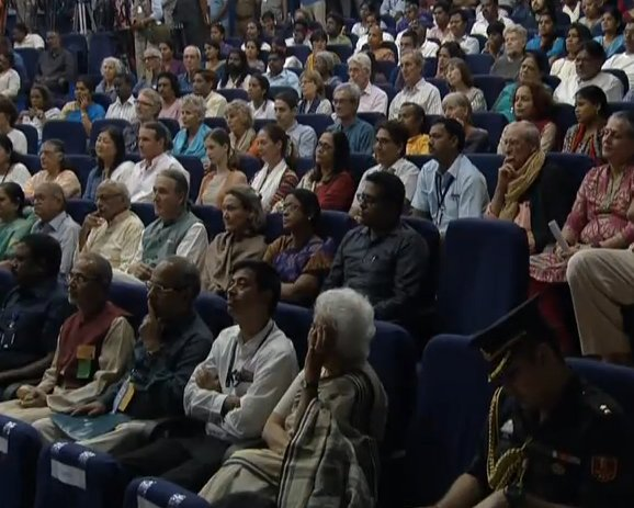 Auroville has brought together men and women, young and old, cutting across boundaries and identities. I understand that Auroville's Charter was hand-written in French by the Divine Mother herself. According to the Charter, the Mother set five high principles for Auroville: PM