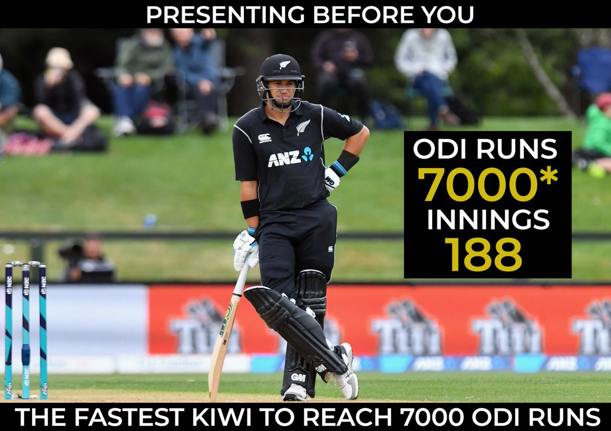 Ross Taylor becomes the fastest New Zeal...