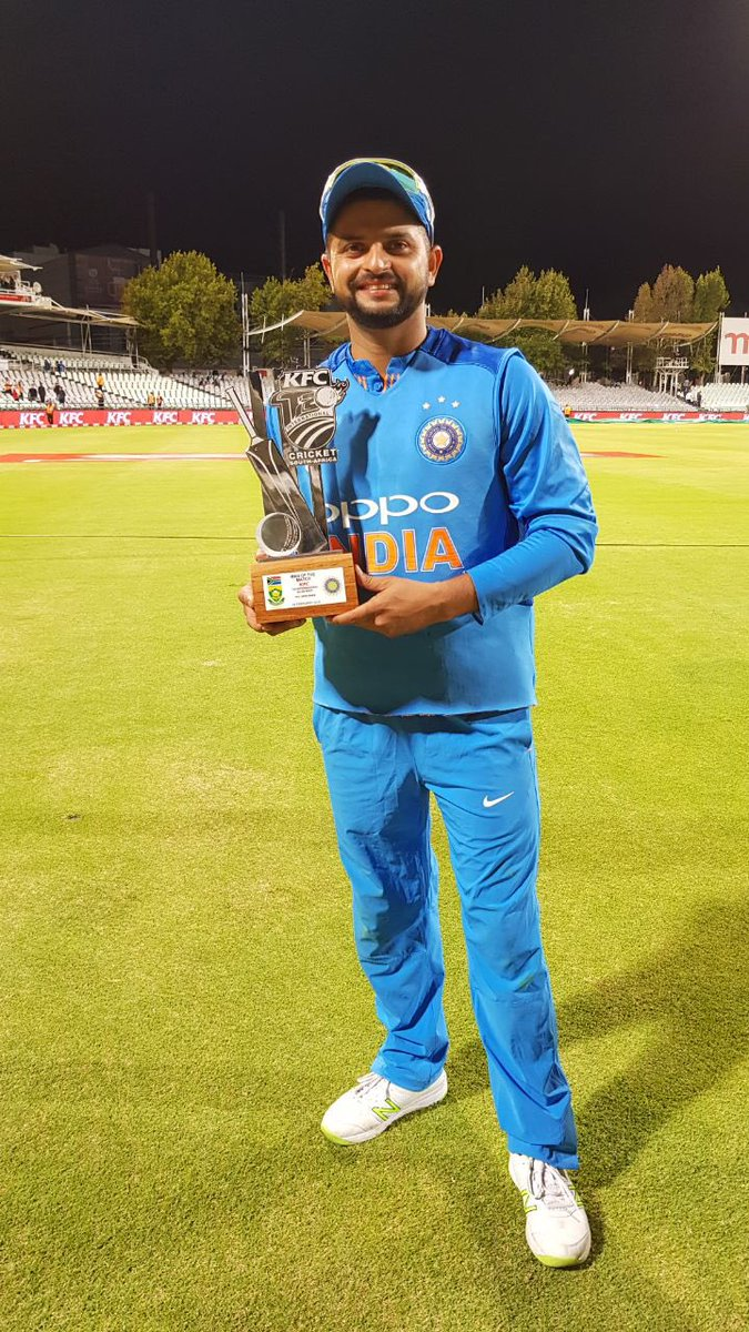 suresh raina on twitter success comes with a lot of hard work