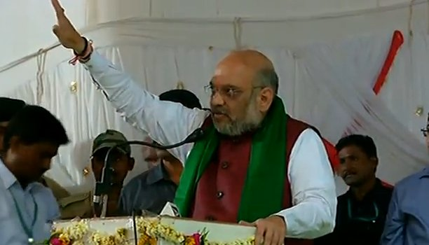 Shri @AmitShah addressing farmers at a public meeting in Humnabad, Karnataka. Watch LIVE at https://t.co/jtwD1yPhm4 ||  https://t.co/I3rCuFSVhc