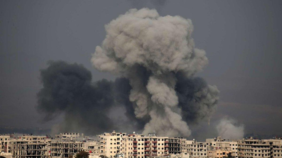 Siria, Ong: 'Tregua violata, il regime bombarda di nuovo il Ghouta' #Siria https://t.co/Anetj8zwaE