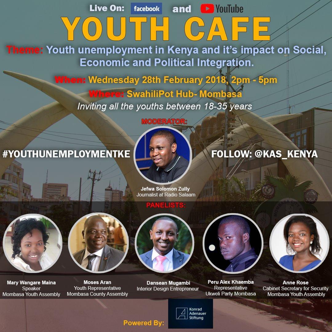 Kas Kenya On Twitter A Kenyan Youth Aged 18 35 Years