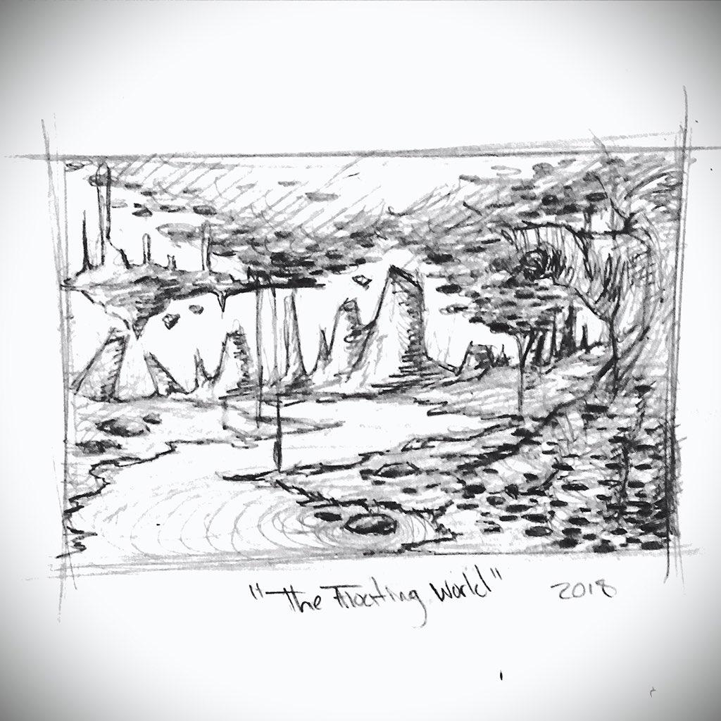 Borutodesign On Twitter Concept Art Environment Sketch