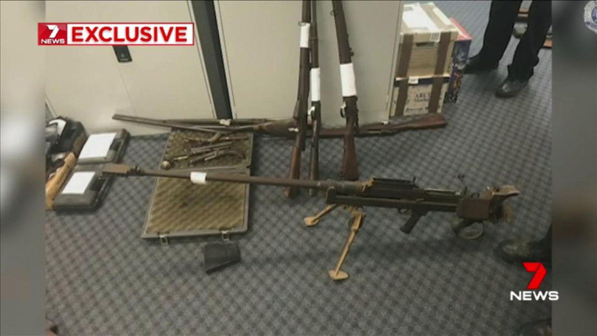 Hundreds of guns have been taken off Queensland streets in a month long police crackdown. @PaulaD7news @G_Chumbley https://t.co/xz9WiwqNed #7News