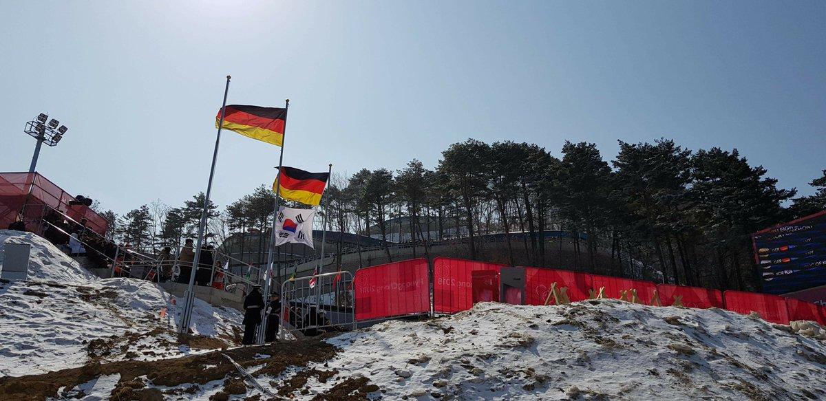 German Flags for the 4men #Champions #WirduerD #TeamD #Bobsleigh https://t.co/K2HNPX6XWB