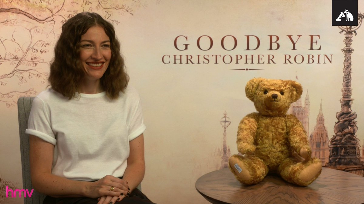 #GoodbyeChristopherRobin arrives in-store & online on Monday. We talk to one of the film's stars & its director...  https://t.co/9sxSrp6C3d