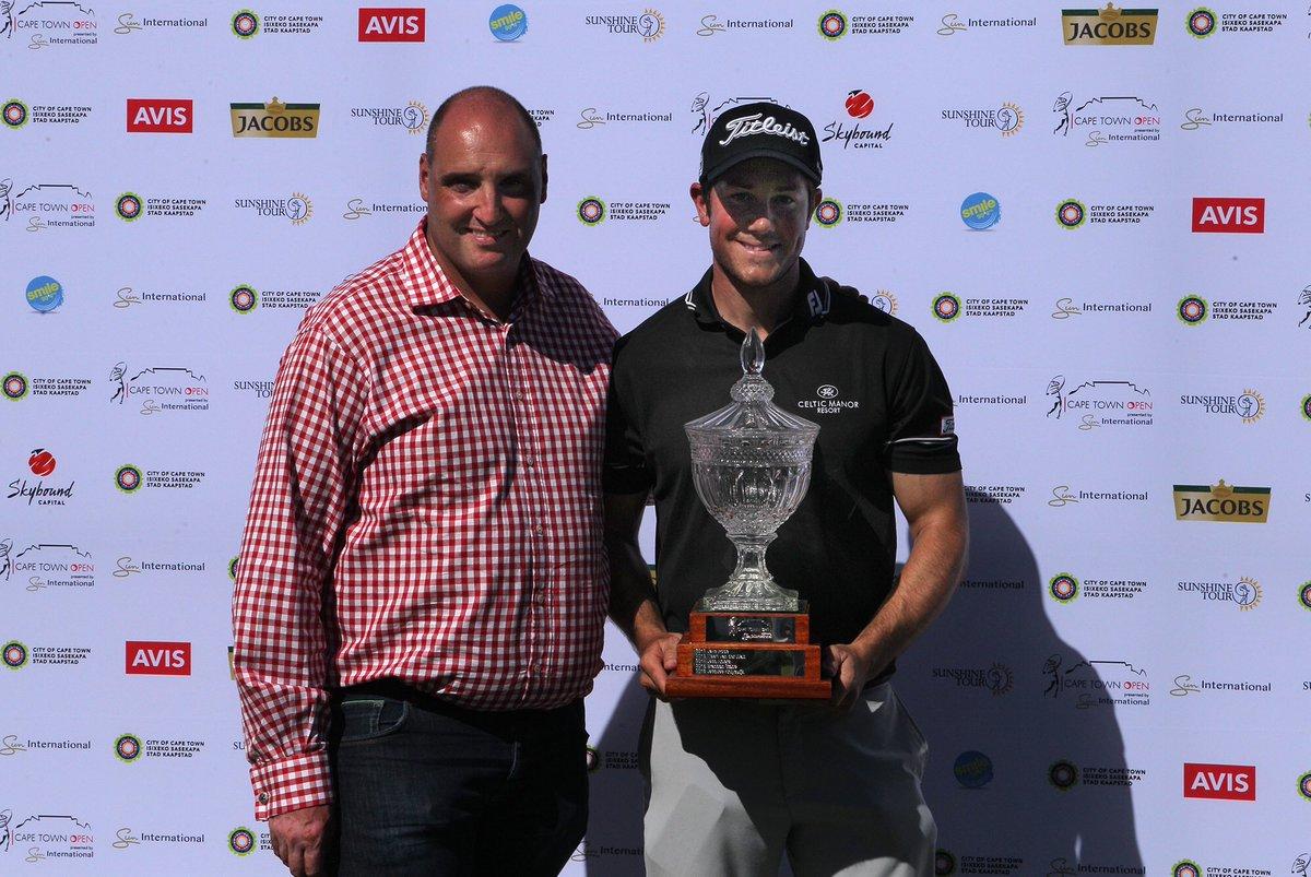 Suninternationalgolf On Twitter Dan Sevel Sun International Marketing Manager Sports Marketing Congratulates Capetownopen Champion Rhysenoch