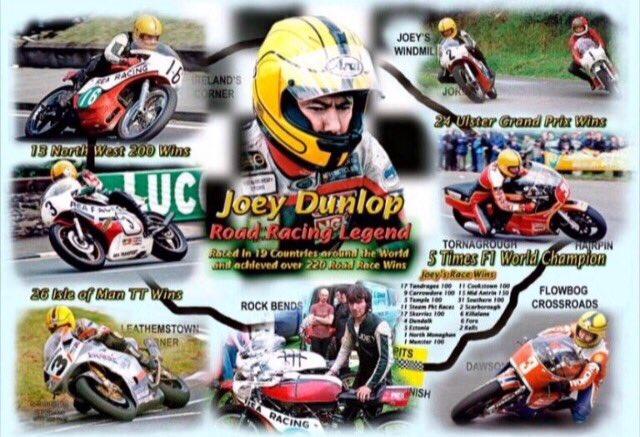 Happy birthday Joey Dunlop..