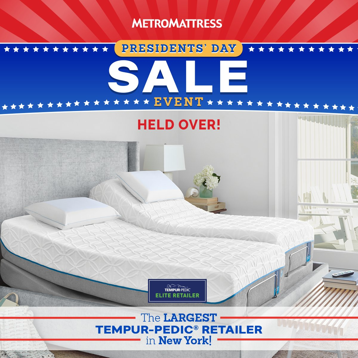 day presidents warehouse collections banner sale mattress