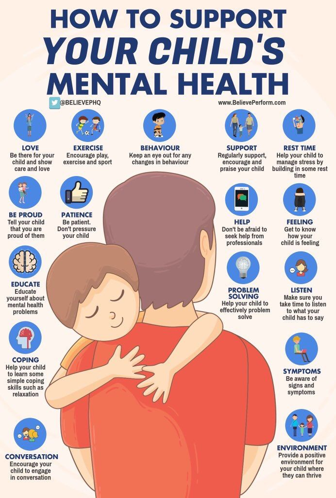 How to support a child's mental health