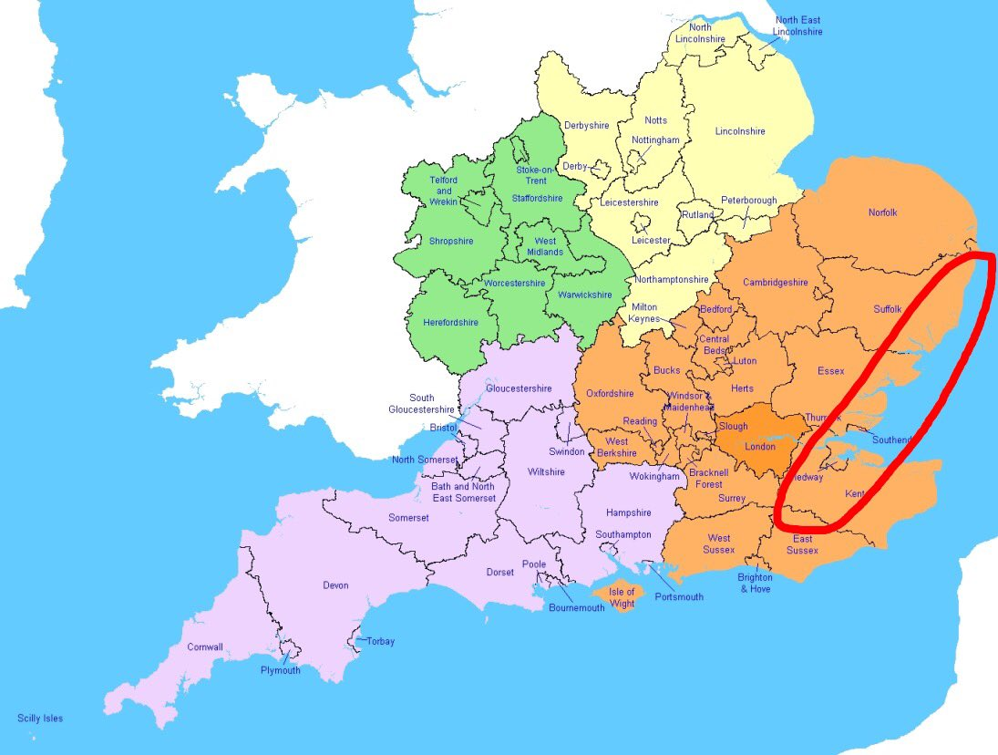 Se England Map.U K Snow Updates On Twitter Good Morning I Ve Been Asked To Make A