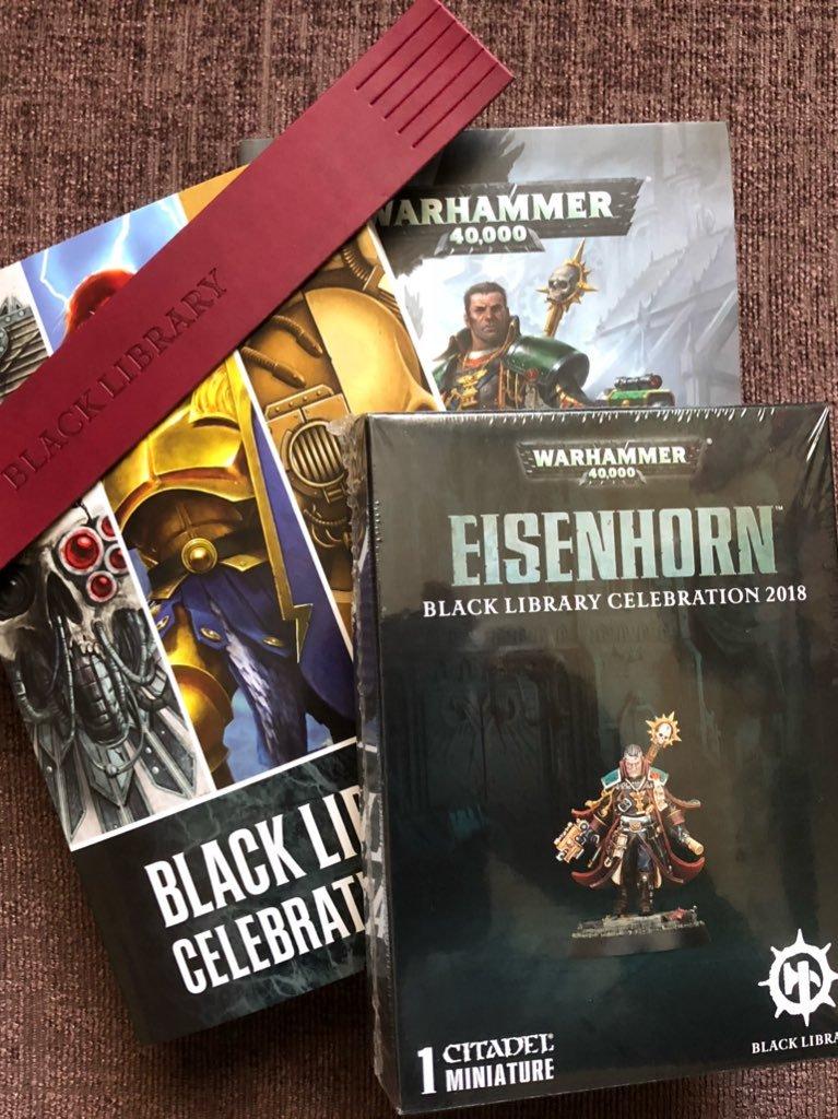 Eisenhorn Unboxing & Black Library C...