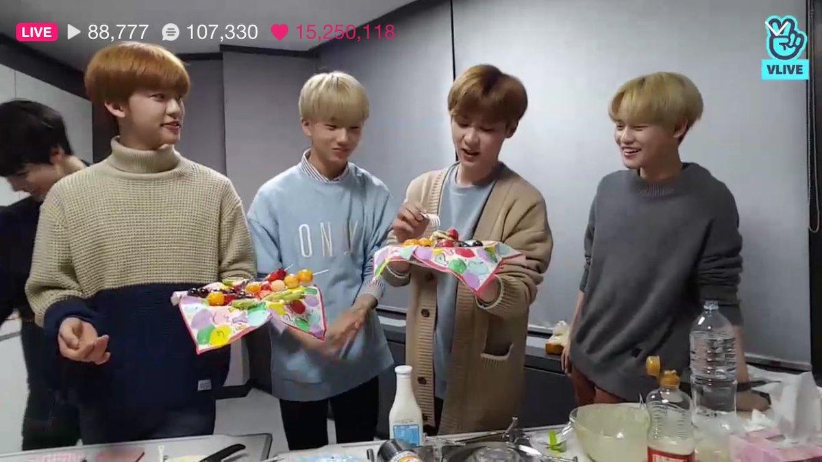 드림 : 꺄하하핫~~ (설탕을 뿌리며) 쿤 : ....  재민 : 얘들아...