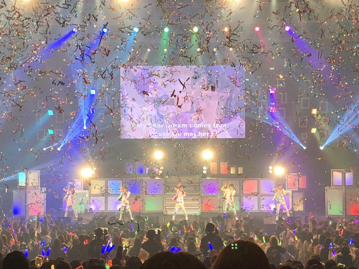 【1stライブツアー】 DearDream 1st LIVE TOUR 2018「ユメノコドウ」皆様の愛に支えられて、ラストまで駆け抜けることができました!DearDream、KUROFUNEのユメがファンの皆様のお陰で何十倍、何百倍にもなりました!最高のエール、最高の景色をありがとうございました! #dfes