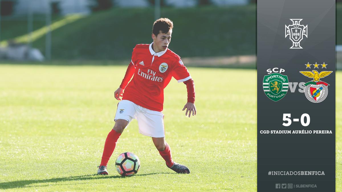 #IniciadosBenfica   ⏹ Termina o encontro.   Resultado final: Sporting CP 5-0 SL Benfica