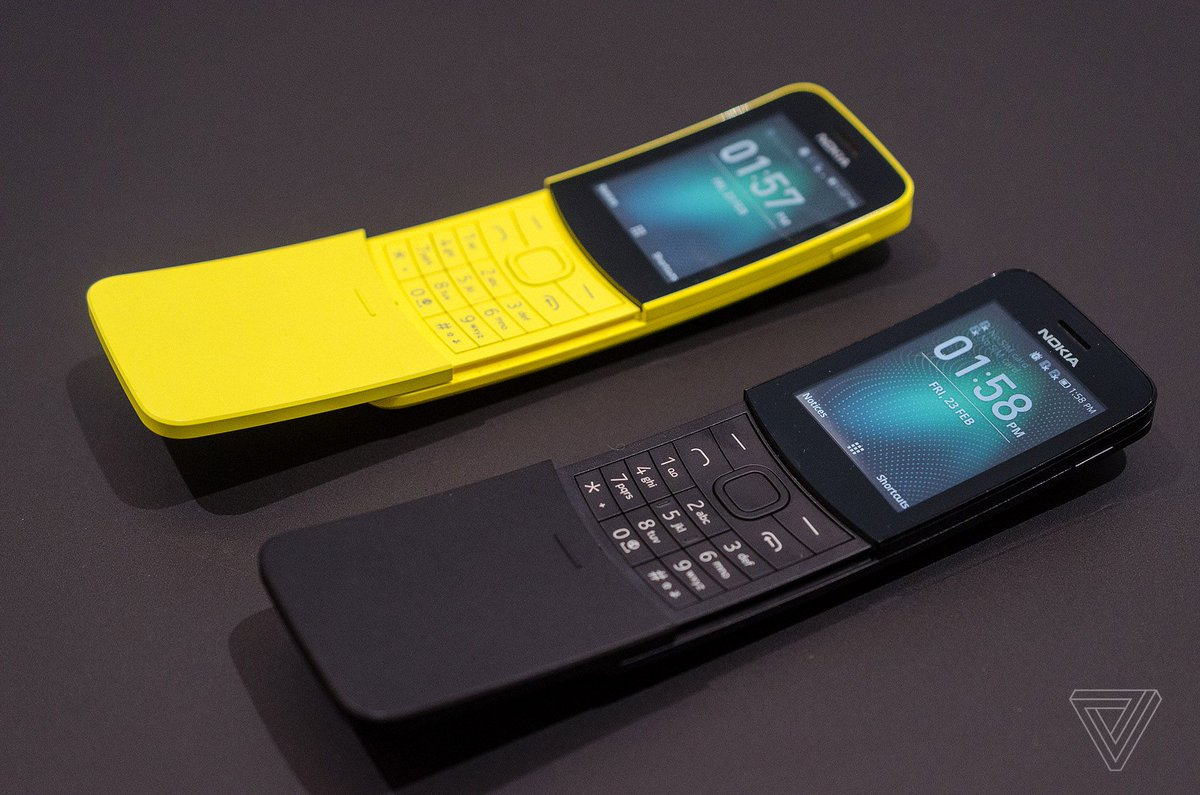 Nokia's banana phone from The Matrix is back https://t.co/kWyxW6E9jx
