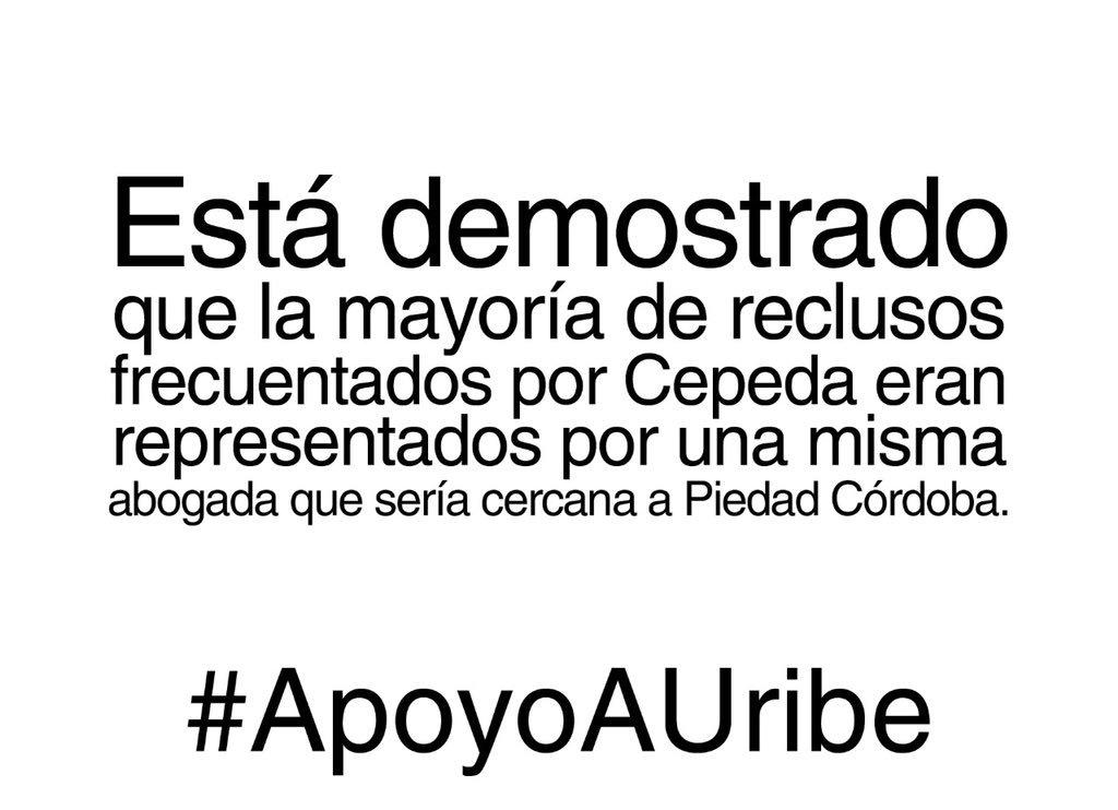 #ApoyoAUribe No más abusos, no más menti...