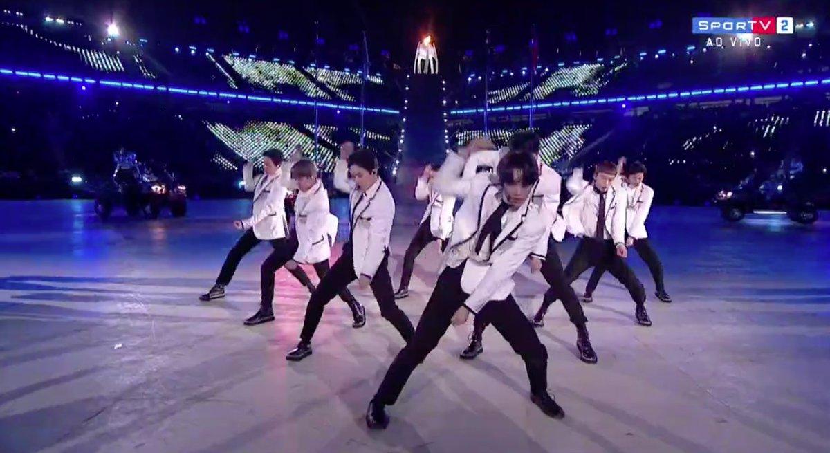 EXO! #oInvernoÉNosso #OlimpíadaDeInverno