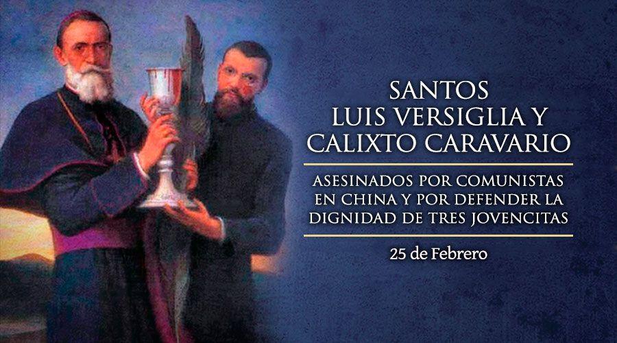 #Santoral | Hoy la Iglesia recuerda a Santos Luis Versiglia y Calixto Caravario, mártires salesianos